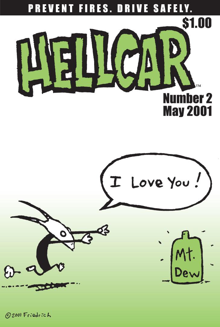 HellCar Comix 3