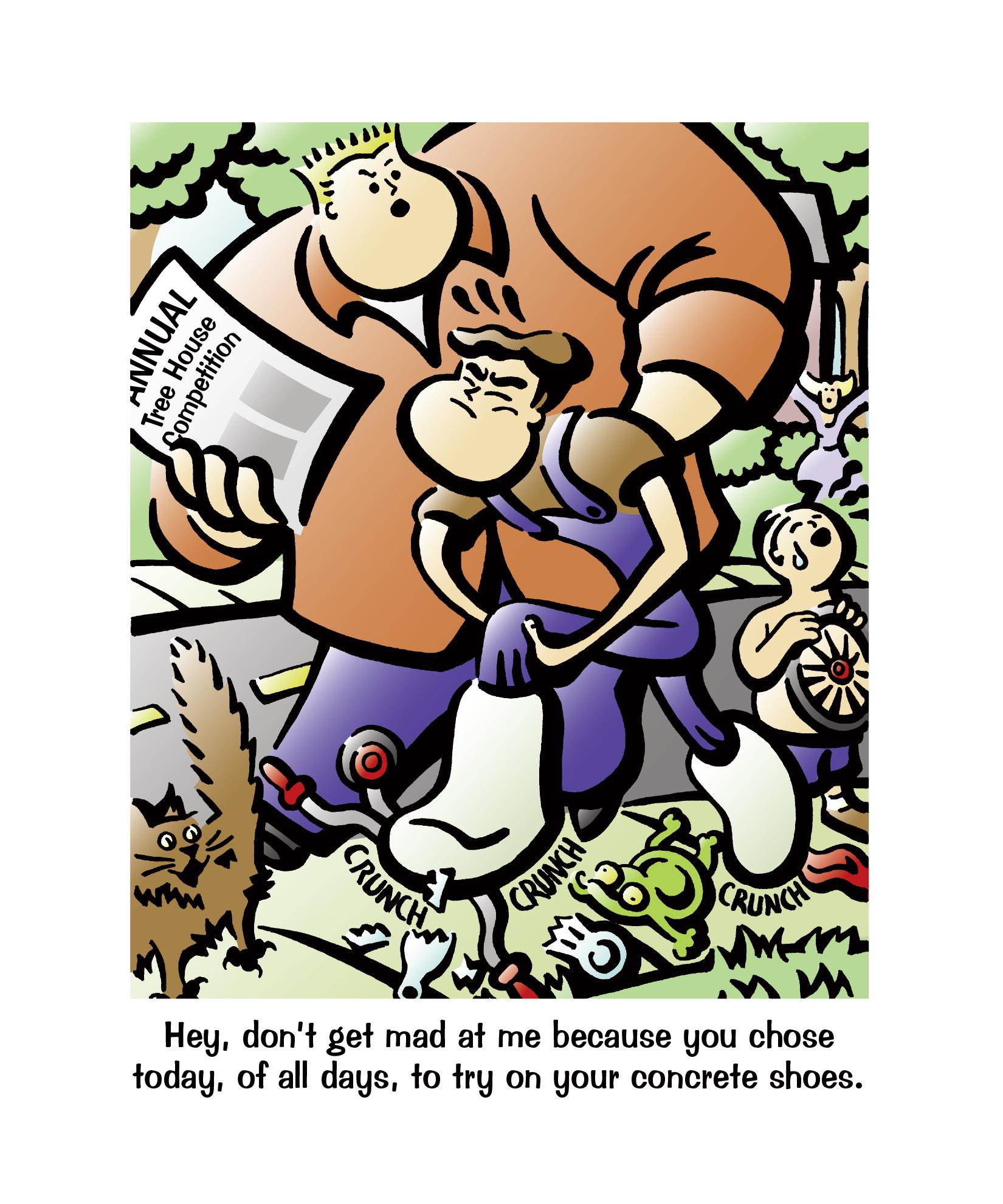 Concrete Jungle_Comic Strip 2_Daniel Gallant