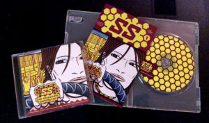 Original CD and CD packaged with comic insert